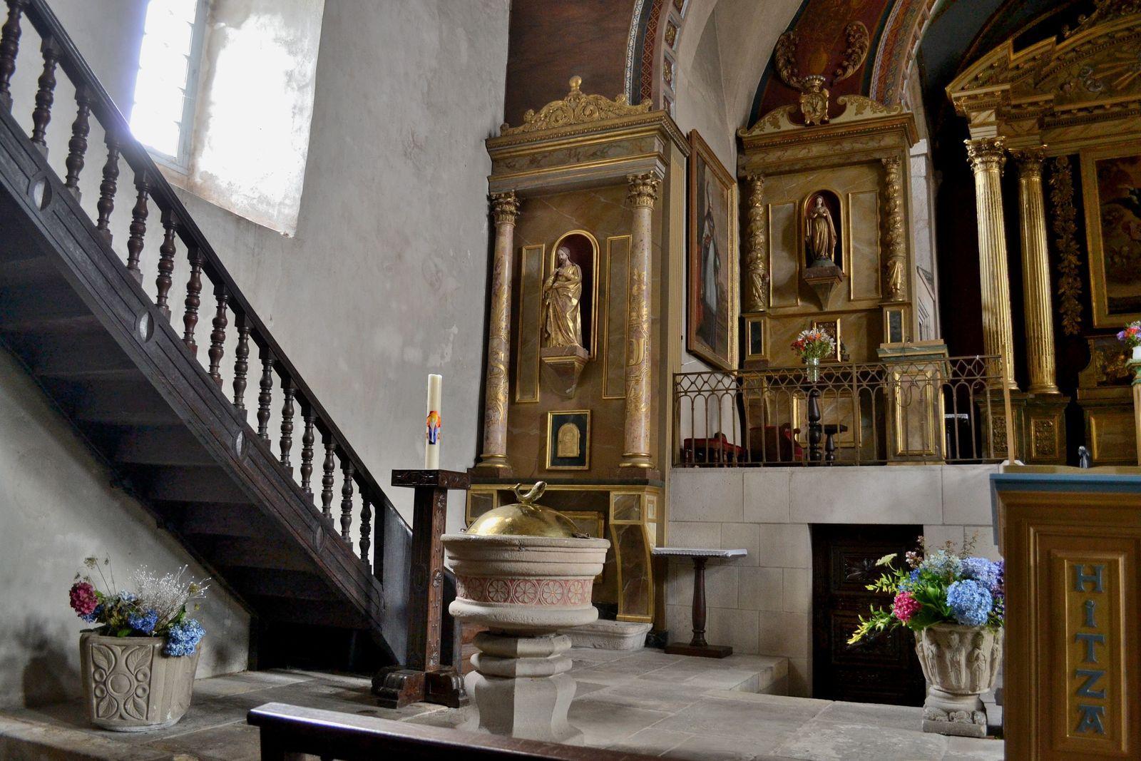 L'église Saint-Martin de Sare...