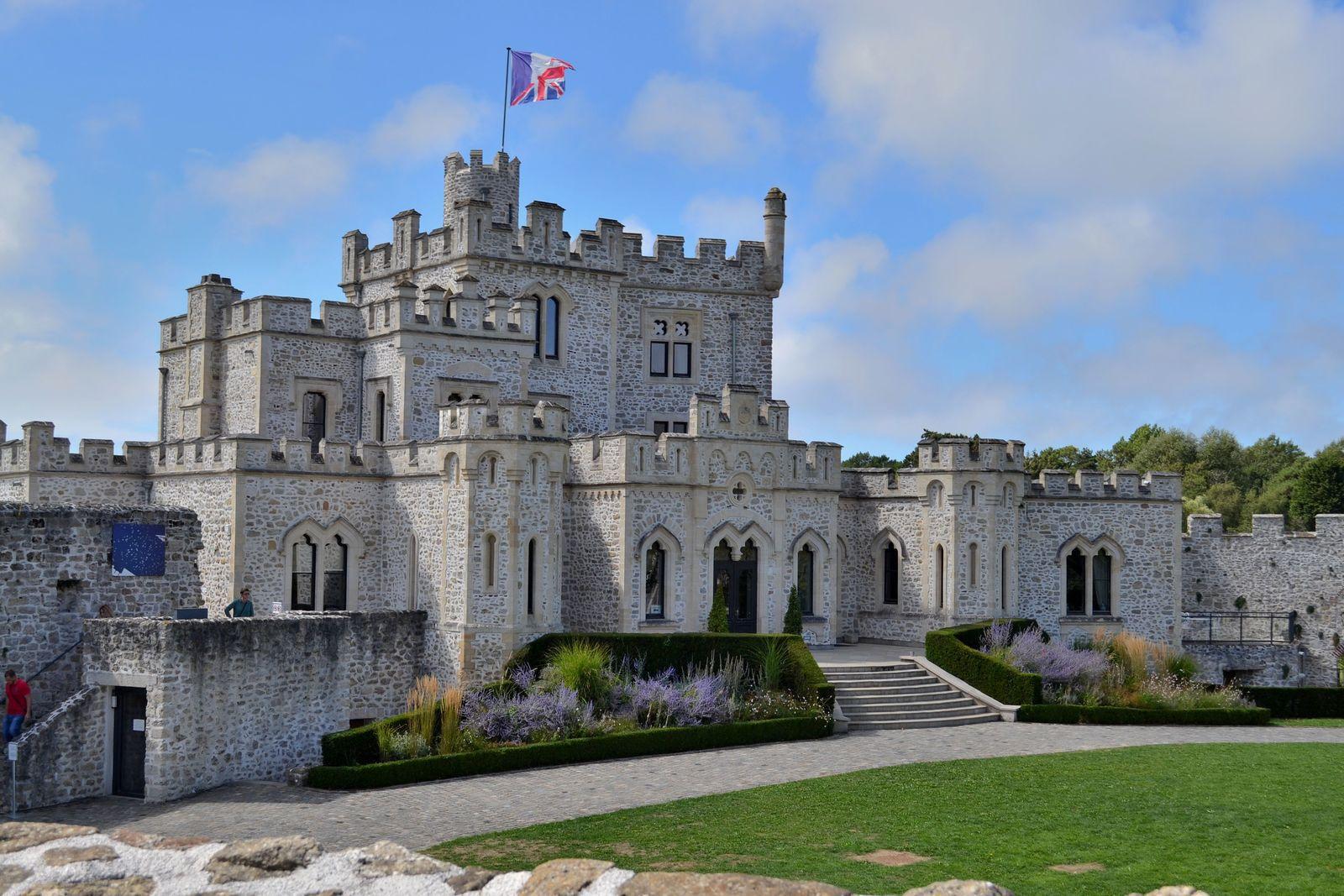 Le château d'Hardelot sur la Côte d'Opale!