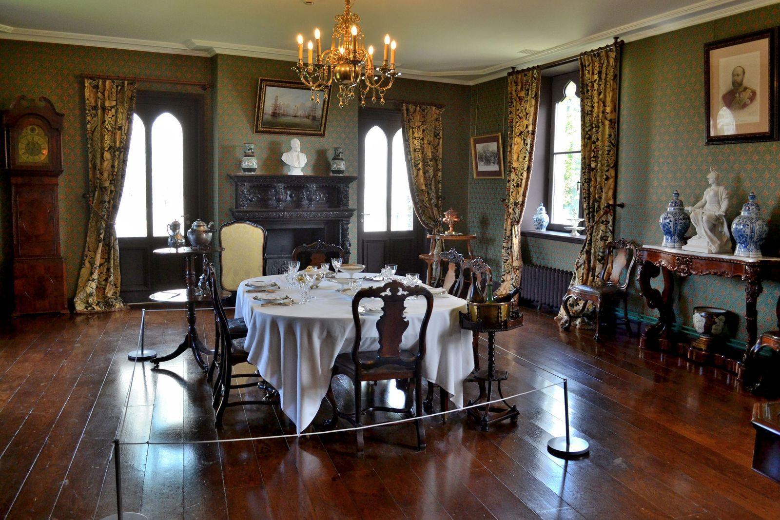 La salle à manger...