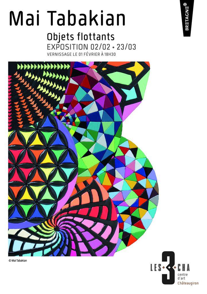 OBJETS FLOTTANTS, un solo show de MAI TABAKIAN au Centre d'art 3 CHA, en Bretagne, à Chateaugiron