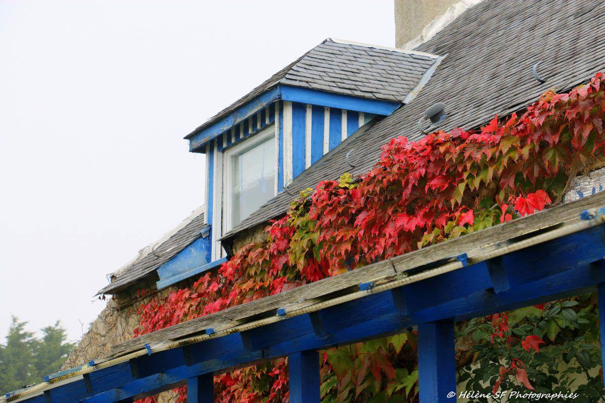 Morbihan, Erdeven: belle randonnée d'automne en direction de la plage de Kerhillio