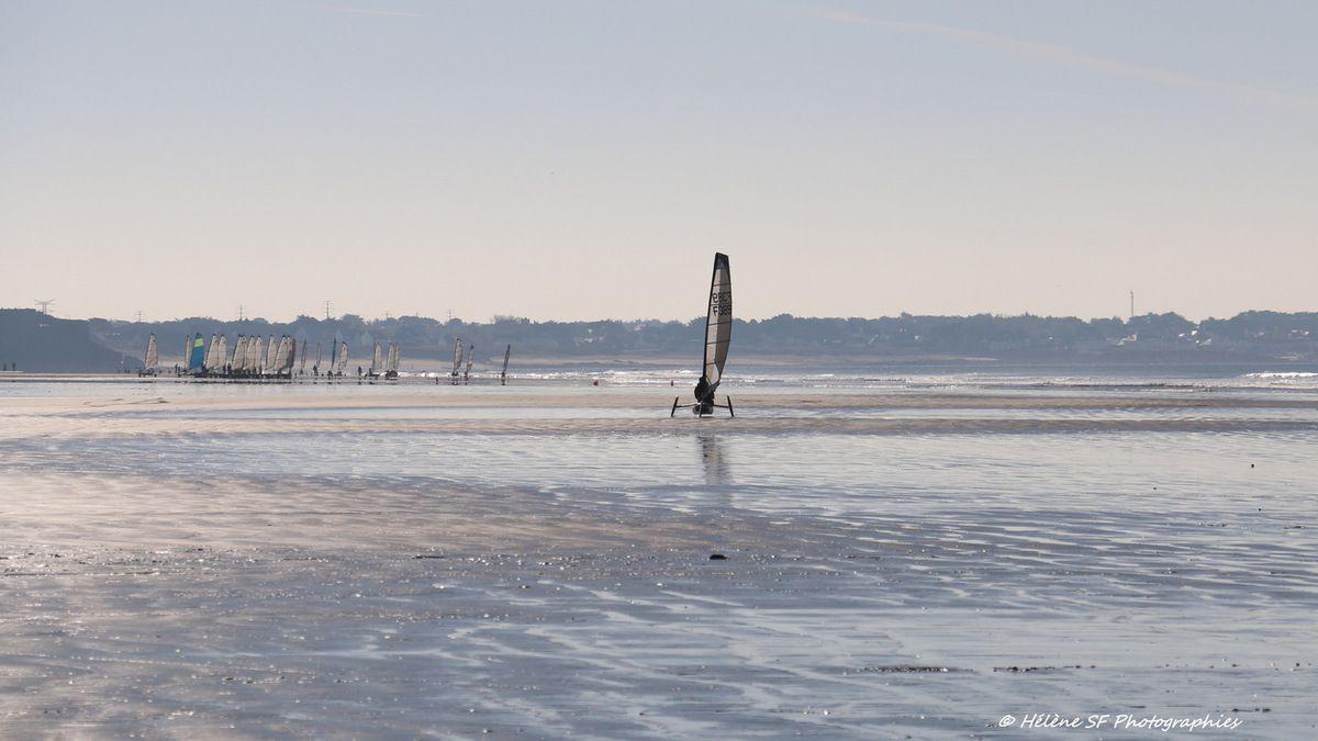 Morbihan, Erdeven, balade d'automne sur la plage, petites histoires de bonheurs simples