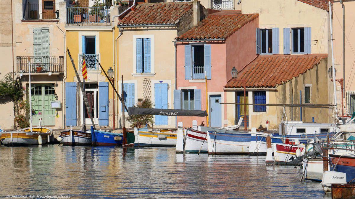 Martigues: balade remplie de reflets au doux soleil d'automne dans la petite Venise de Provence