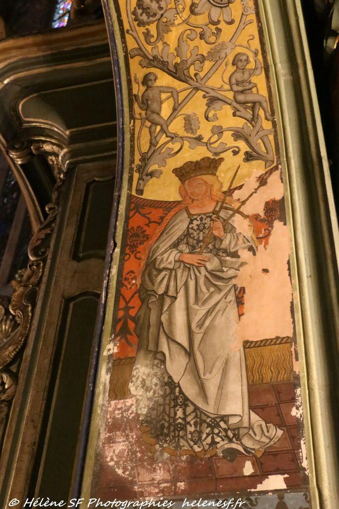 Strasbourg incontournable: la visite de la superbe église protestante Saint-Pierre le jeune remplie de magnifiques fresques