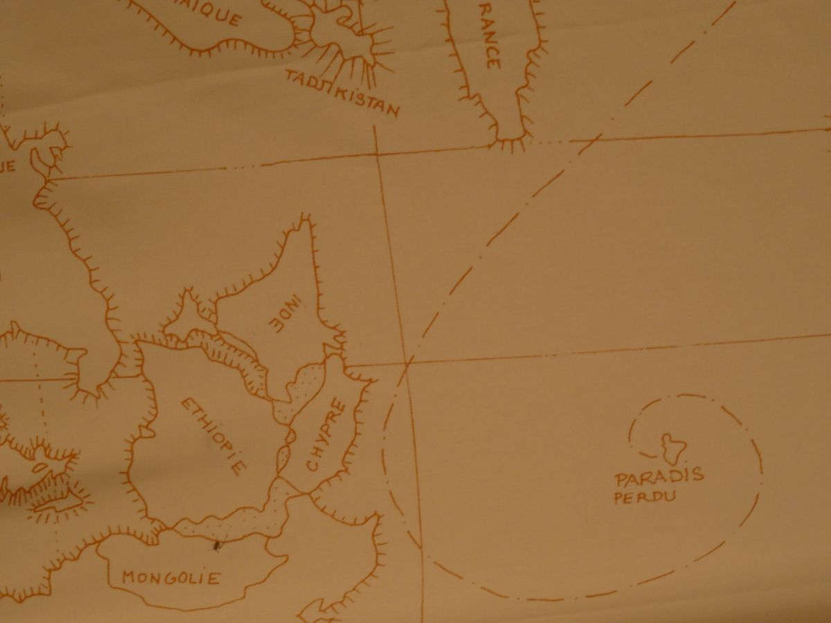 After a few shots of Old Calvados spirit, the map could have probably made sense..
