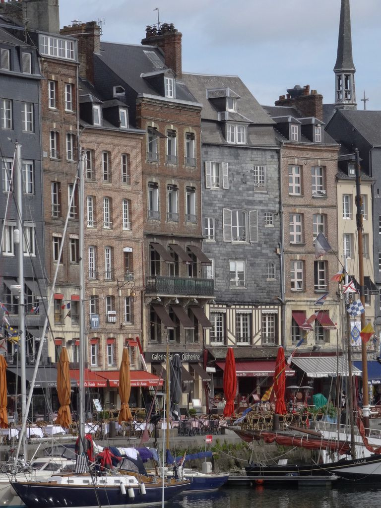 Quai Sainte Catherine in Honfleur.