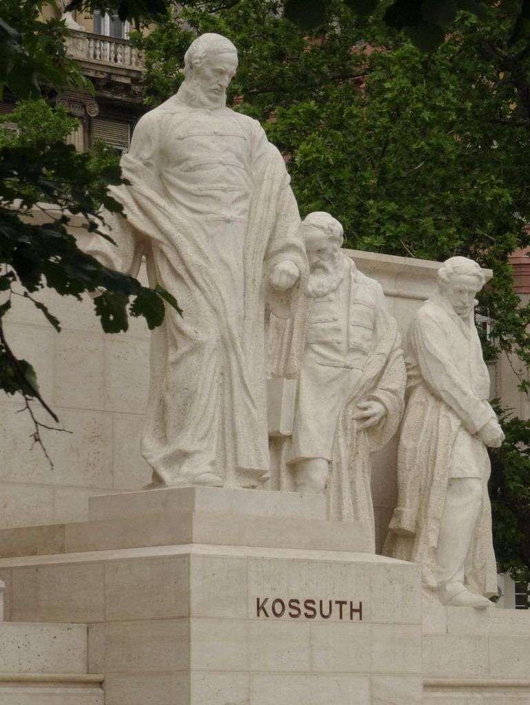 La fresque de Kossuth