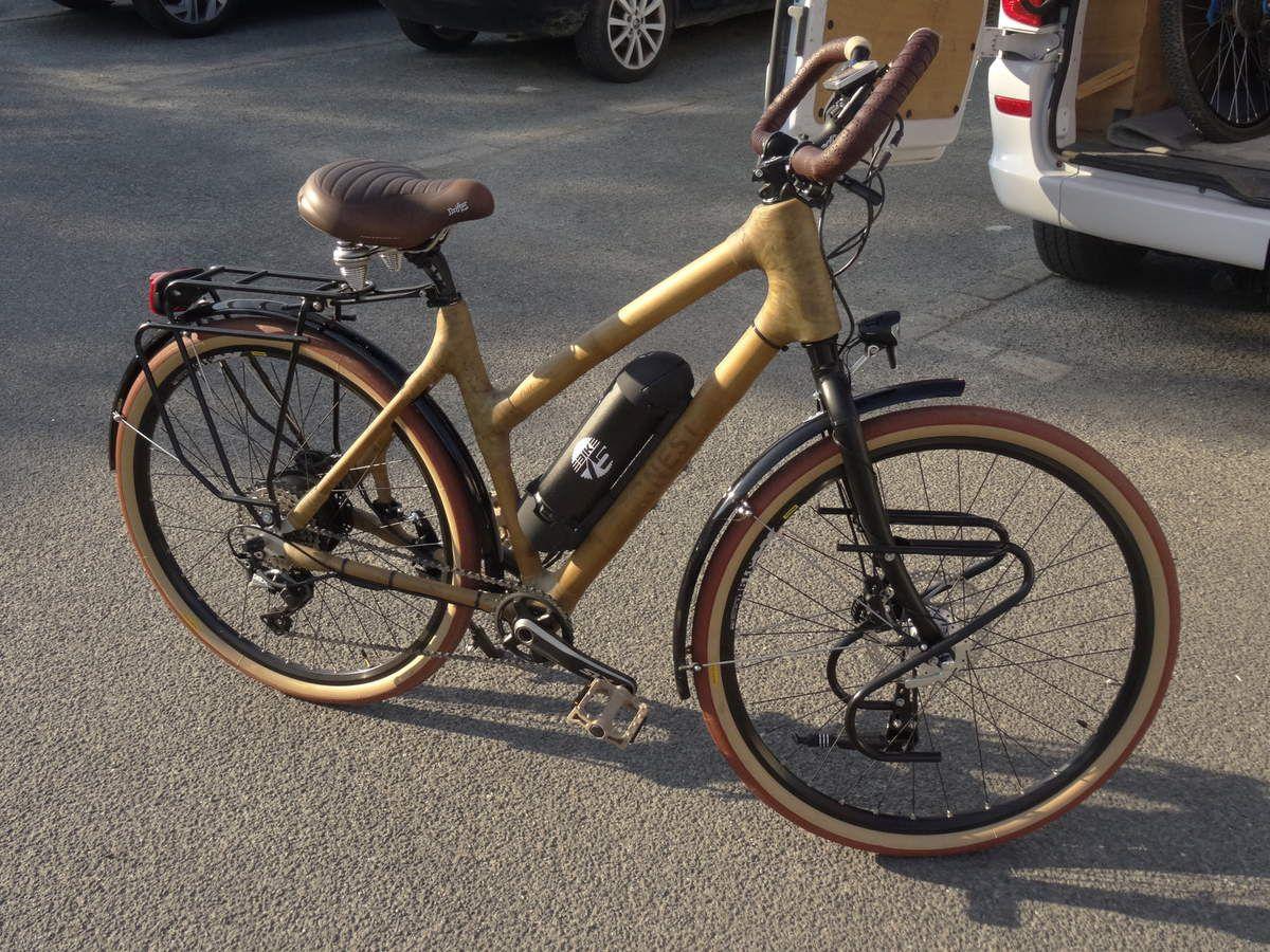 """Vélo """"ERNEST"""" fabriqué sur mesure."""