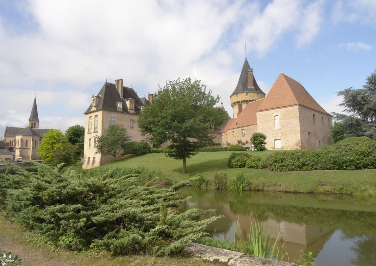 Château de Saligny sur Loire