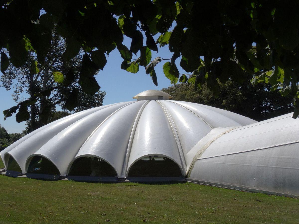 Le pavillon du planeur Waco