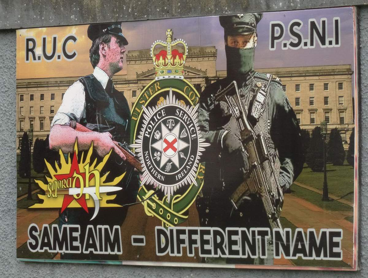 "Royal Ulster Constabulary - Police Service of Northern Ireland : ""Noms différents mais mêmes objectifs"".."