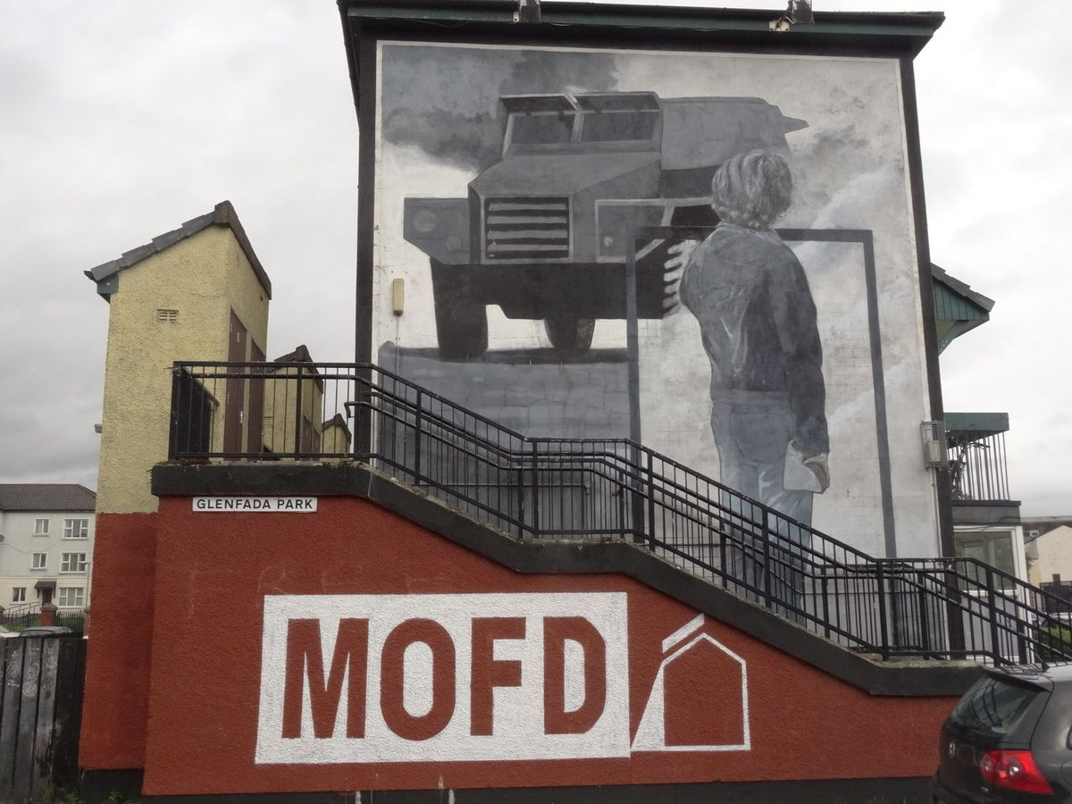 MOFD : Museum of Free Derry.