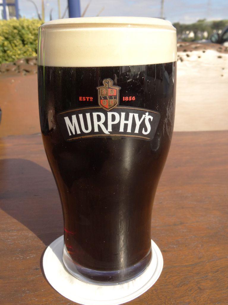 Dublin c'est Guinness; Cork c'est Murphy's