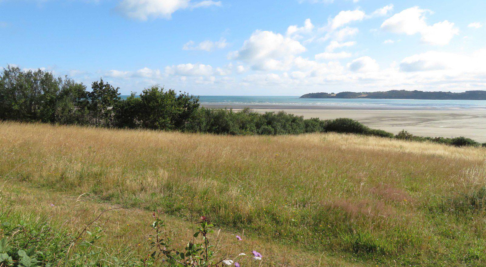 Le long de la baie de Saint Brieux, côté ouest