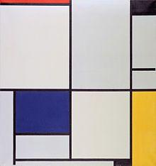 Tableau 1. Mondrian 1921