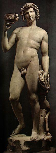 """""""Bacco"""", Michelangelo Buonarrotti"""