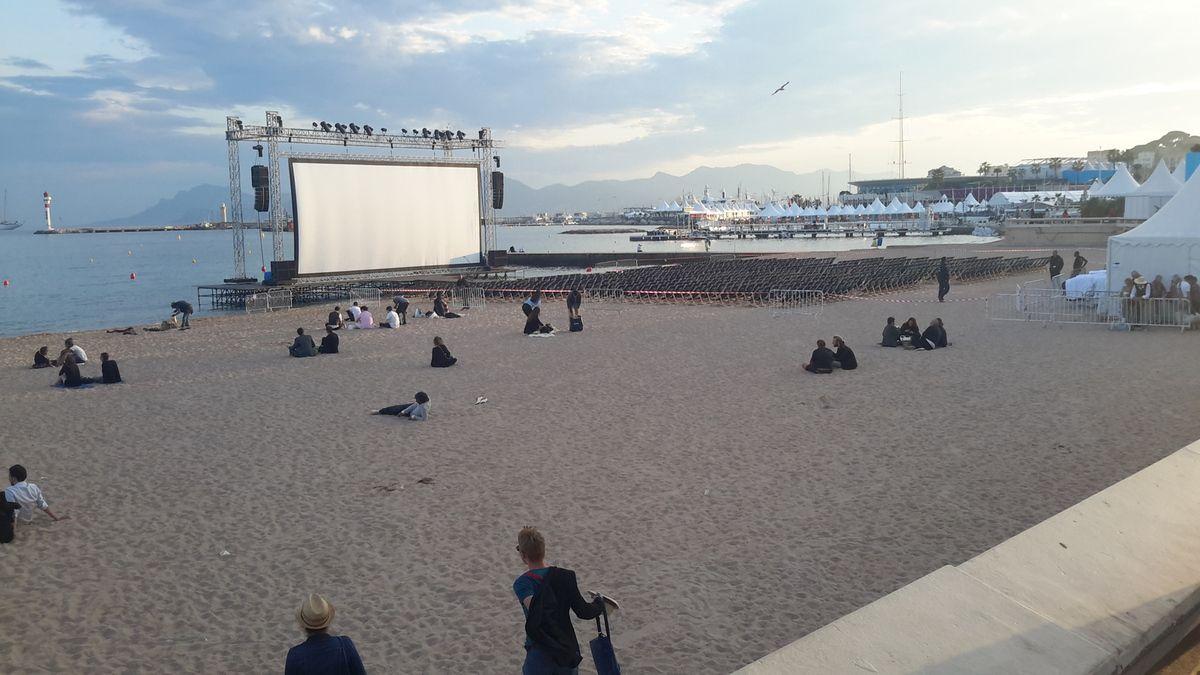 Le cinéma de la plage
