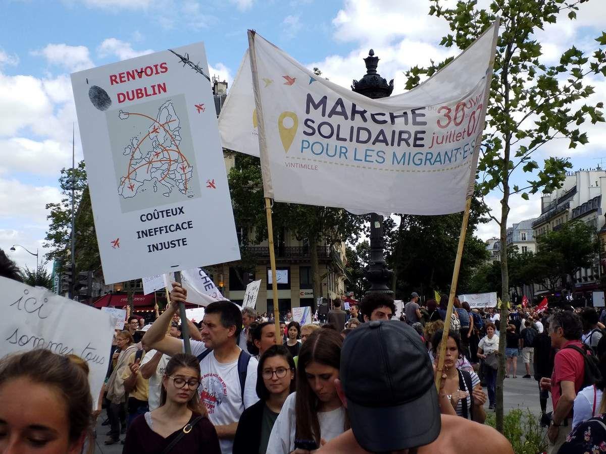 Vintimille-Calais en passant par Paris
