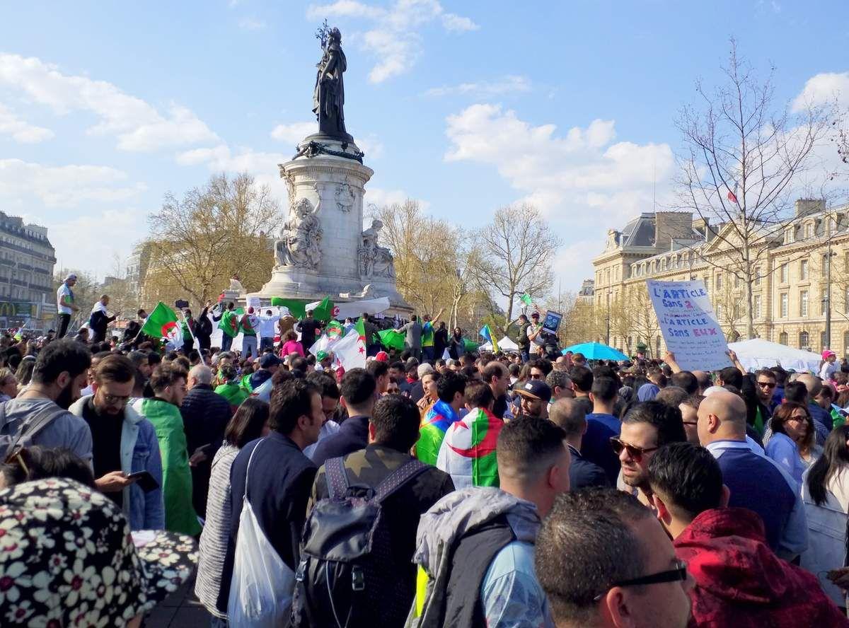 Vendredi à Alger, Dimanche à Paris...