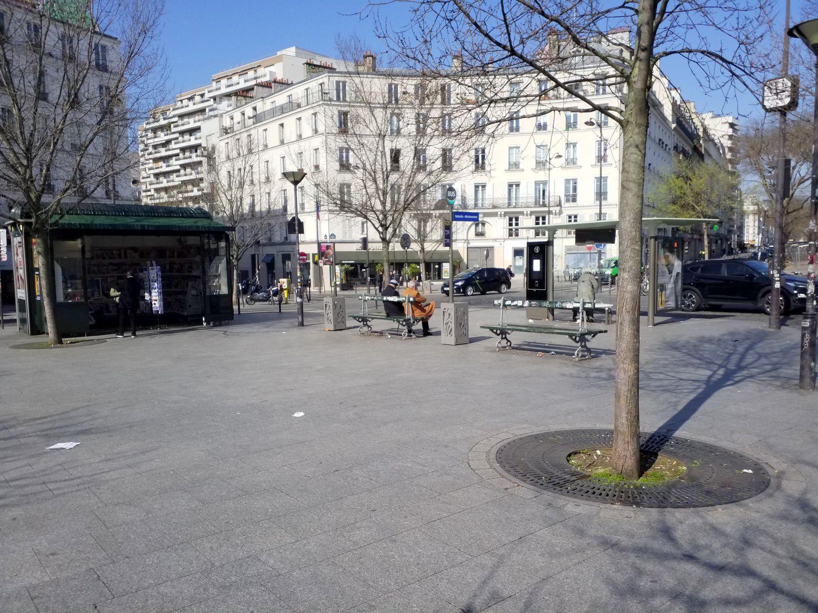 Place Jean Ferrat, Paris 11-20, 19/03/20