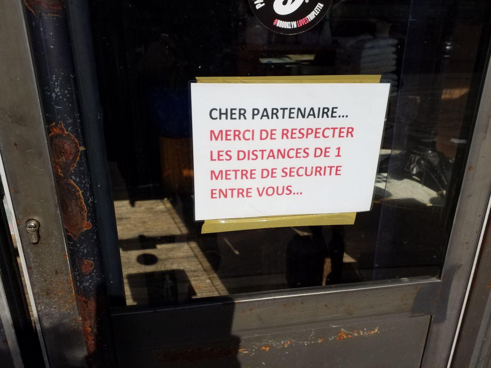 Belleville, r de Belleville, queue devant la Poste (bd de Belleville 11°), bd blleville (3) dont queue à la pharmacie bd de Belleville, Paris 20°, 31/03/20