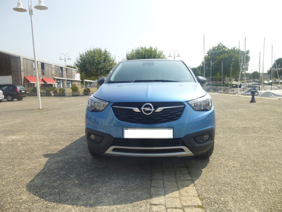 Essai Opel Crossland X 1.2 Turbo 110 ch Innovation