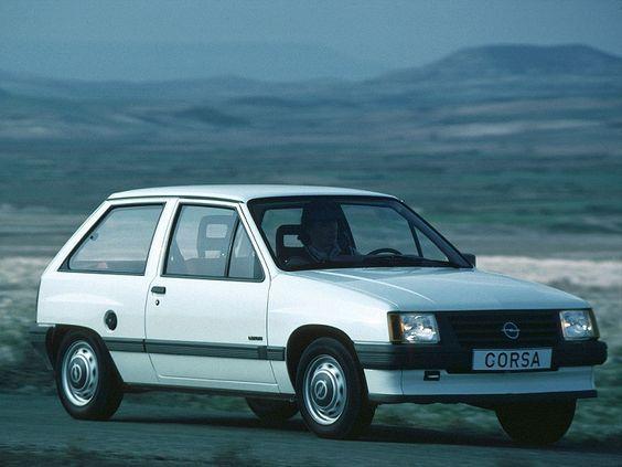La première Opel Corsa, une vraie citadine...