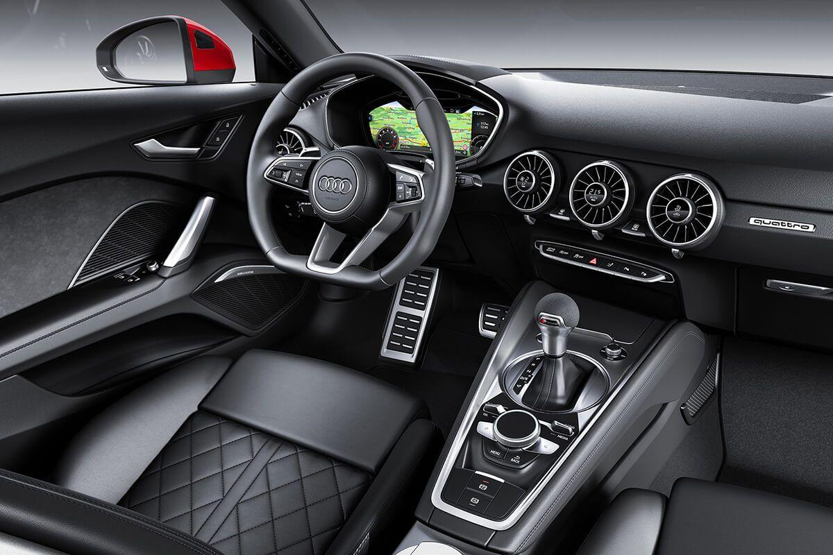 La version TT 40 TFSI, en résumé c'est le 0 à 100 km/h en 6.6 s, une conso mixte de 6 L et un comportement dynamique plaisant.