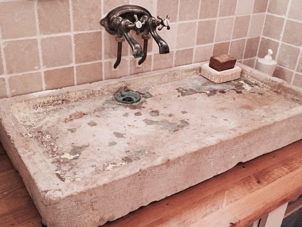 Affiche Ancienne Pour Salle De Bain diy: meuble de salle de bain à l'ancienne / rustique