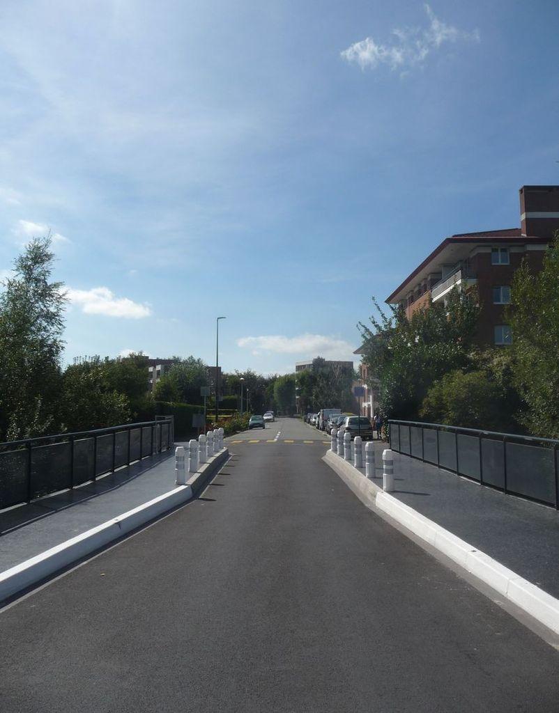 Réfection terminée du Pont rue du Cardinal Liénart Halluin - Septembre 2018.