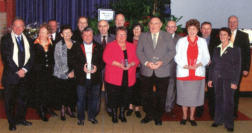 En 2008, M. Vandendriessche reçoit le Mérite Associatif de la Ville d'Halluin.