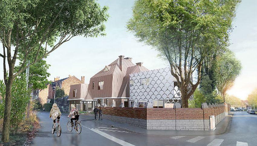 Plan de rénovation de la Villa Maillard Tourcoing... renaissance en 2019.