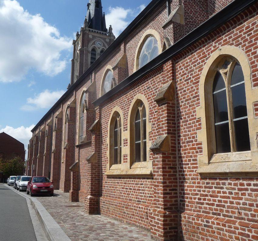 Eglise Saint Hilaire Halluin - Mai 2019.
