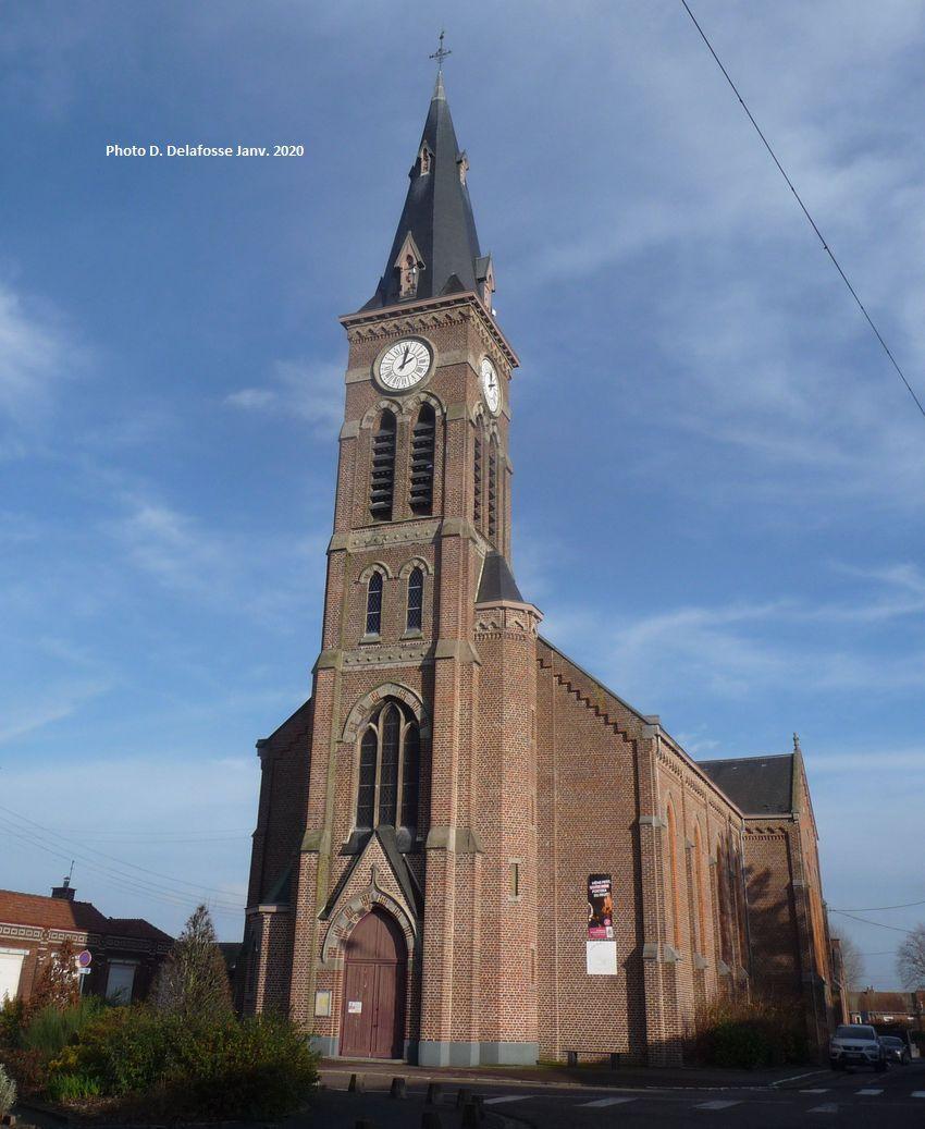 Eglise Saint Alphonse Halluin (Mont) - Janvier 2020.