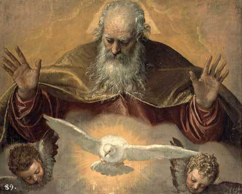 "Paolo Veronese, ""The Eternal Father"""