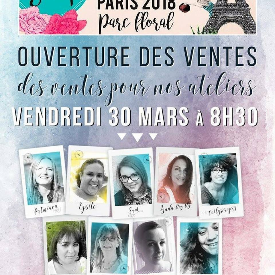 Ateliers Version Scrap Paris 2018