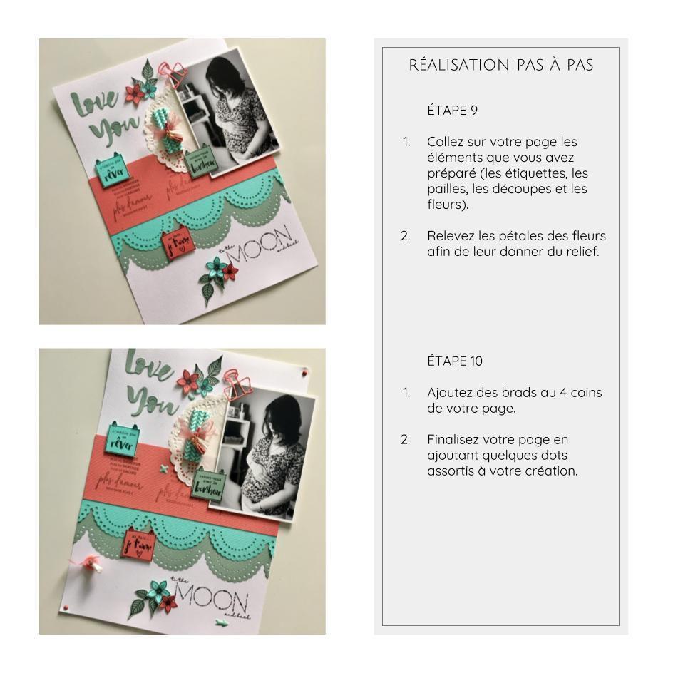 Tutoriel page pour Florilèges Design