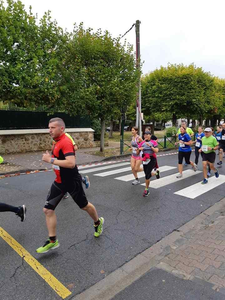 Trail du Four à Chaux et 10 km de Vaires (06/10/19)