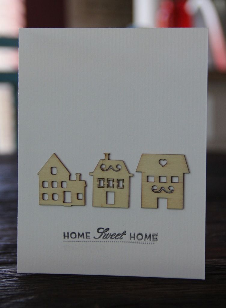 "4 cartes ""Home""..."