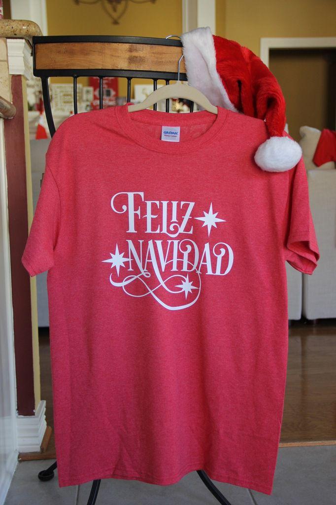 Des T-Shirts esprit de Noël ...