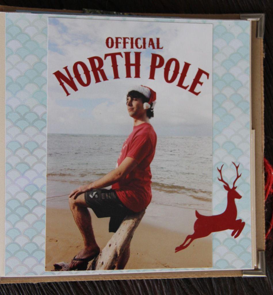 """Mini album: """"Noël, plages&cocotiers"""""""