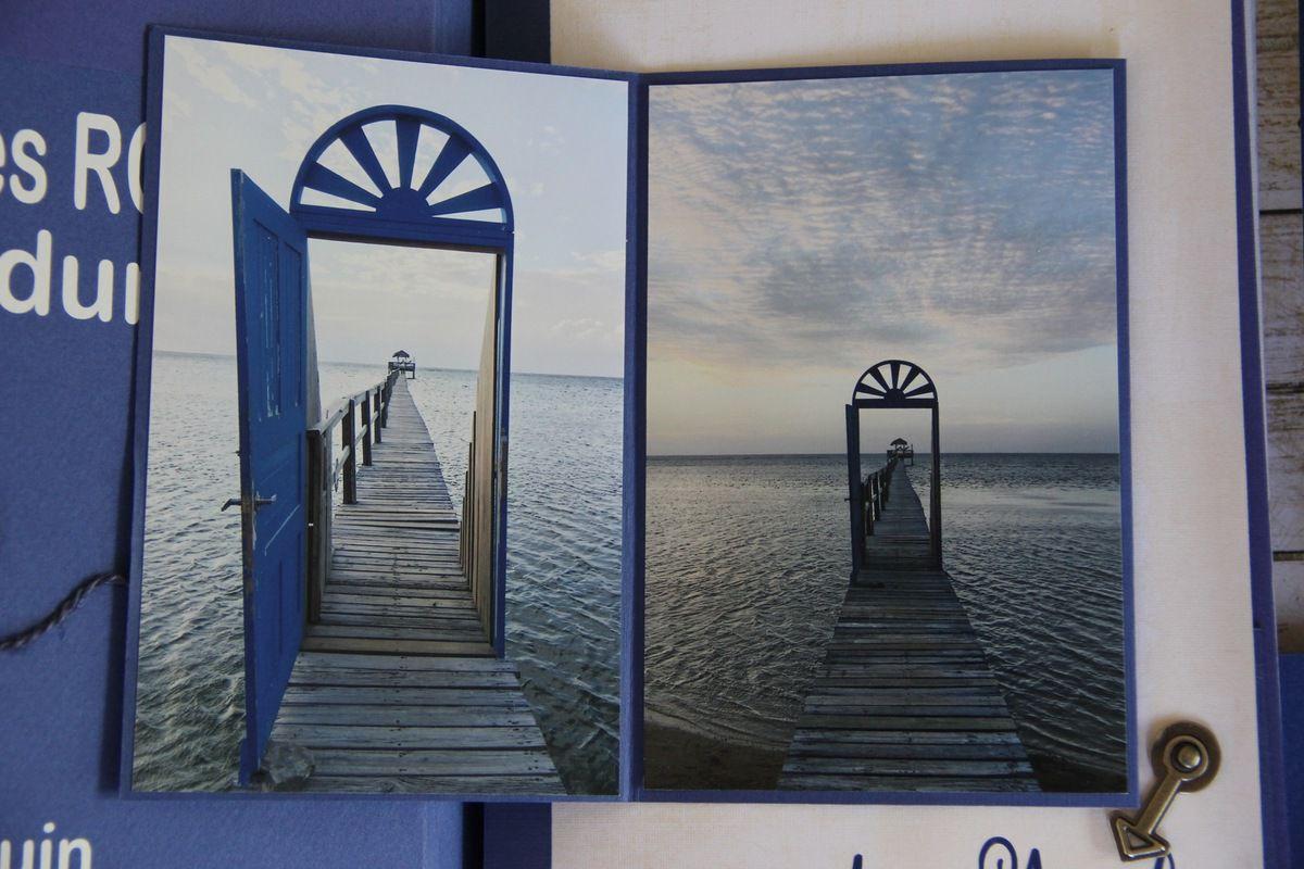 Mini album Puerta Azul,île de Roatan (Honduras)