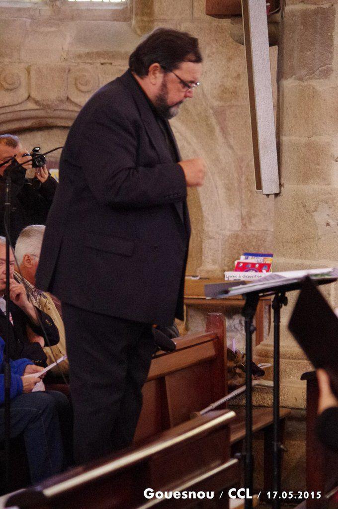 programme du concert du 17 mai 2015 en l'église de GOUESNOU à 16h
