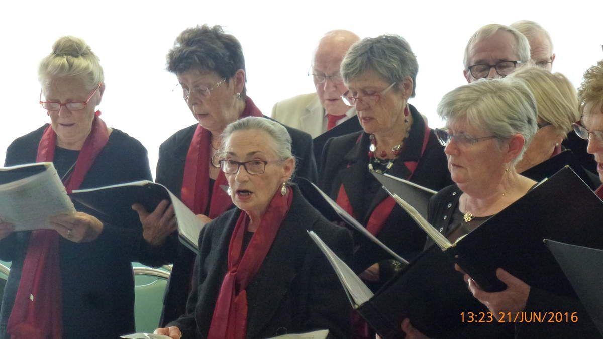 21/06/2016 concert à la maison de retraite de Cleusmeur à Lesneven