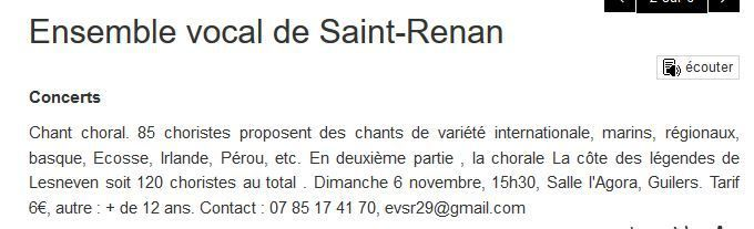ANNONCE OUEST FRANCE