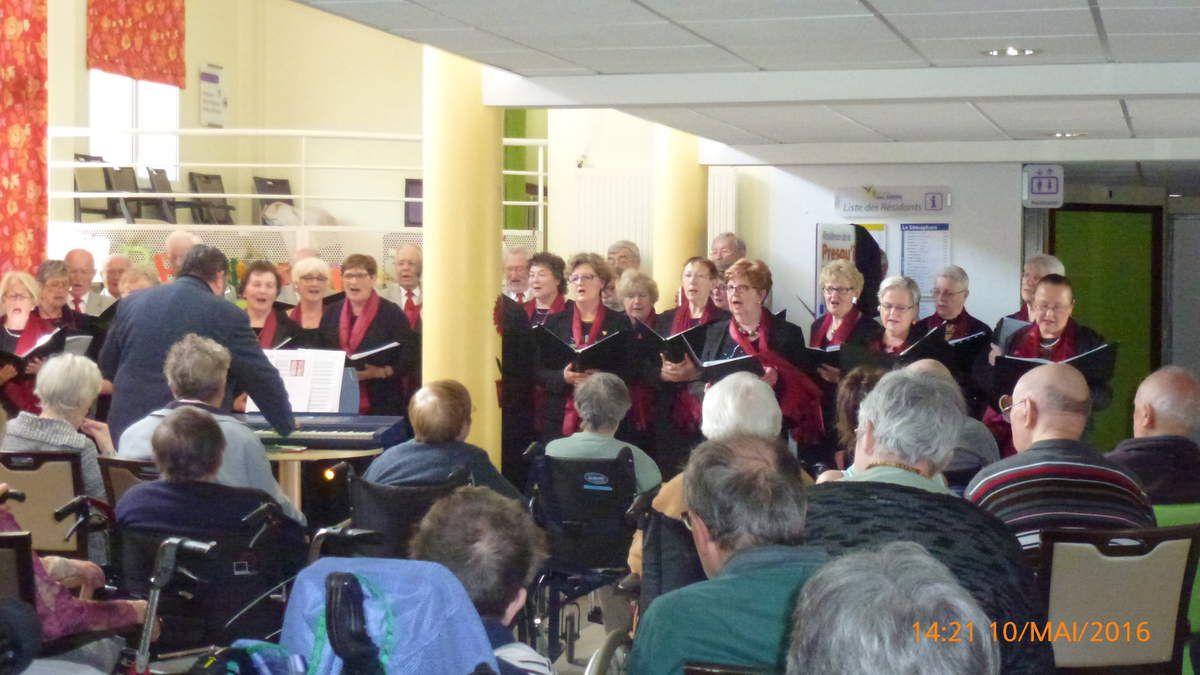10.05.2016 concert Maison de retraite de Landéda