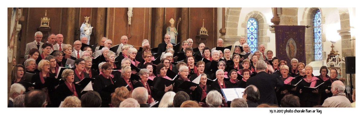 "Les photos de la chorale de KAN AR VAG ""le plaisir de chanter ensemble)"
