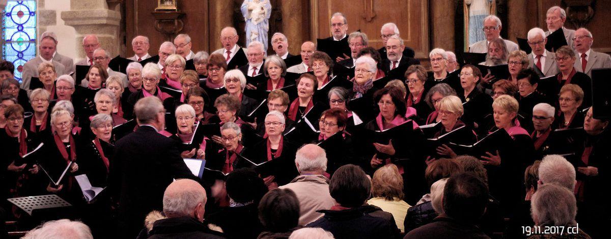 Les photos de la chorale de la Côte des Légendes (merci Christine)