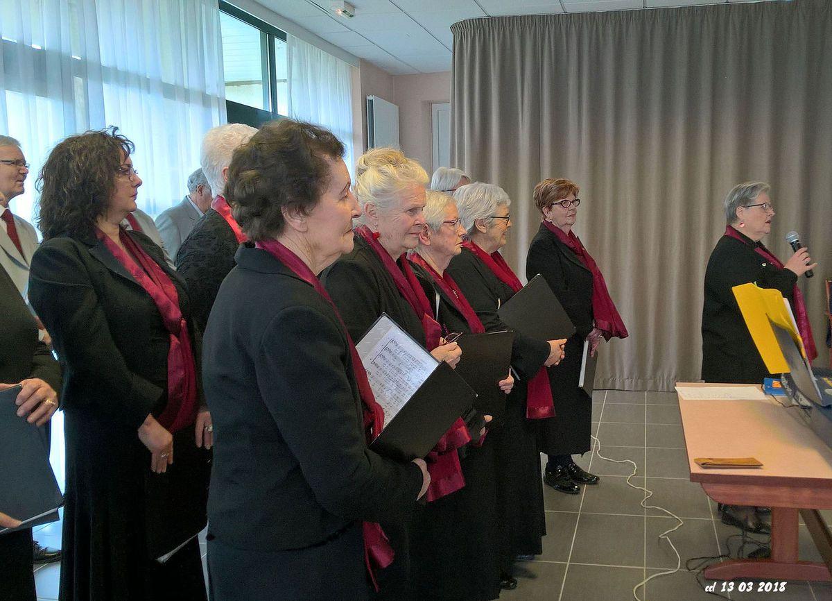 13 mars 2018 : concert maison de retraite Cleusmeur