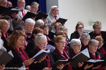 23.02.2020 concert de la Chorale de la Côte des Légendes et de la chorale La Clé des Chants de Morlaix